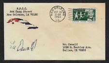 John F Kennedy JFK Conspiracy Lee Harvey Oswald Collector Envelope *OP1011