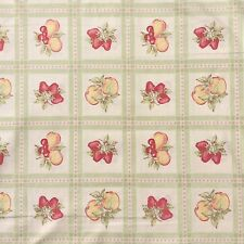 Cotton Quilting Craft Sewing Fabric Kaye England BENARTEX Fruit 110cm x 40cm