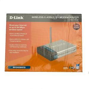 D-Link Wireless G ADSL2/2+ Modem Router DSL-G604T
