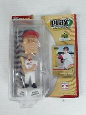 Stan Musial Cardinals Bobble Head 2002 Hall Of Fame Upper Deck Play Makers New!