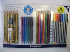 Staedtler Stationery Collection Set Special Edition 36 Pce Pens Pencils Eraser