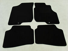 Kia Ceed 2007-12 Fully Tailored Deluxe Car Mats in Black