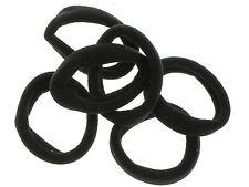 Black Jersey Endless Snag Free Hair Bobbles Hair Elastics Hair Bands