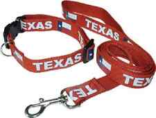 Texas Longhorn Star Dog Collar and Leash