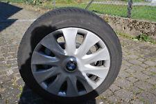 Goodyear Winterreifen Runflate mit Stahlfelgen und Original BMW Radkappen