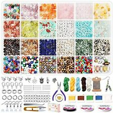 Jewelry Making Supplies Kitnatural Stone Heishi Disc Gemstone Beads With Seed