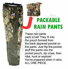 2d442d20e95be Men's Game Winner Packable Rain Pants Realtree Xtra Camo 3xl Hunting Hiking