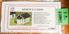 American Model Builders, Inc S #82 Miner's Cabin (Laser Cut Building Kit)
