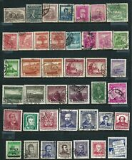 41 used Stamps - Chile