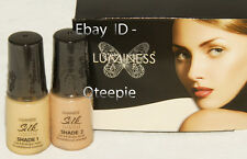 LUMINESS AIR - Airbrush Makeup 2 pc FAIR Shade #1 & #2 SILK Foundation SET *NEW
