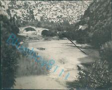 Beirut Lebanon Dog River Bridge 2.5 x 2 Taken Navy officer HMS Ramillies 1930