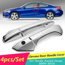 For Honda Accord Coupe 2008 2009 2010 2011 2012 2 Chrome Door Handle Cover Trim