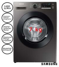 Samsung Waschmaschine 7kg Schwarz Inverter Motor Aqua Stopp SmartCheck 1400U/Min