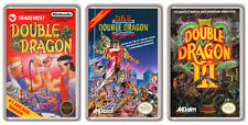 DOUBLE DRAGON NINTENDO NES COLLECTION 3 MAGNETS IMANES NEVERA