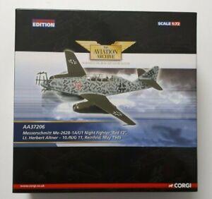 Corgi AA37206 Me-262B-1A/U1 Night Fighter 'Red 12', Lt Herbert Alyner - 10./NJG