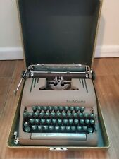 Vintage Smith Corona Silent Super Portable Typewriter with Case