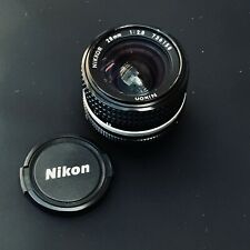 Nikon NIKKOR AI-S 28mm F/2.8 Vintage Lens. 8-element CRC