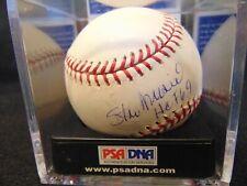 "STAN MUSIAL ""HOF 69"" PSA/DNA GRADED NRMT 8 Cardinals Autographed ROML Baseball"