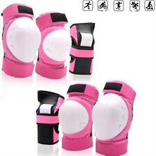 6Pcs Adult Roller Skating Protective Gear Sets Knee Pads Elbow Pads Wrist Guards