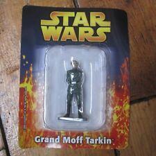 Grand Moff Tarkin Star Wars Deagostini Die Cast Metal Figure On Card Free UK P+P