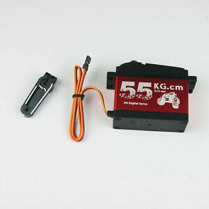 HPI Rovan KM Baja 5B Flux 5T 5SC Digital HD 55kg All Metal Gear Steering Servo