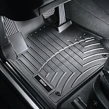 BMW Black All Weather Floor Liners 2011-2013 528i 535i Front Rear 82112220876