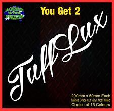 HILUX 4X4 Stickers Ute Turbo Diesel Vinyl TUFFLUX 200mm YOU GET 2!