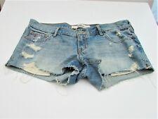 "Hollister Women's Shorts size 7 waist 28"" distressed denim shorts BNWT"