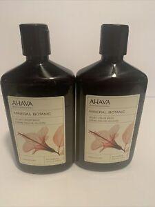 AHAVA MINERAL BOTANIC HIBISCUS AND FIG VELVET CREAM WASH
