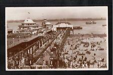 L@@K  The Pier New Brighton 1956 RP Postcard ~ To Stockton on Tees