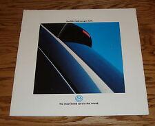 Original 1994 Volkswagen VW Golf Deluxe Sales Brochure 94