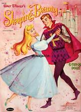 Vintage Uncut 1959 Sleeping Beauty Paper Dolls~20 Pages Clothes~#1 Reproduction
