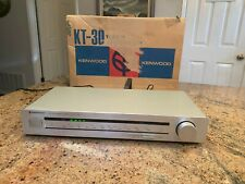 Kenwood Stereo Tuner Kt-30 With the original box.