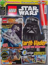 MAGAZINE: LEGO STAR WARS with Star destroyer + TIE Fighter, 4/2015, LIMITED