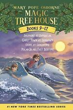 Magic Tree House 4 Book Pack 9-12 Dolphins at Daybreak/Ghost Town at Sundown/Lio