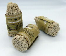 Un paquet de 50 cordes d'encens Bois de santal et épices herbes pures du Népal