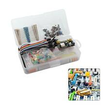 Electronic Component Beginners Learning Kit Breadboard Components Projects Tool