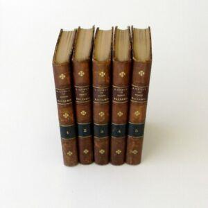 Joseph Balsamo - Alexandre Dumas - 5 volumes - Chefs d'oeuvre de France