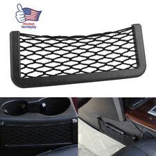 Car Auto Interior Body Edge Elastic Net Storage Bag Pocket Phone Holder 20*8cm