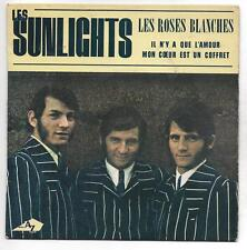 Les Sunlights 1968 : Les Roses Blanches France Gebrauchte Vinyl EP