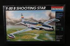 YF028 MONOGRAM 1/48 maquette avion 74003 F-80 B Shooting Star 77 Pièces F80B