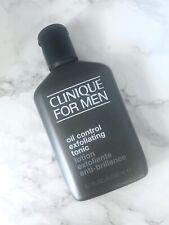 Clinique For Men Oil Control Exfoliating Tonic 6.7oz/ 200ml New Full Size No Box