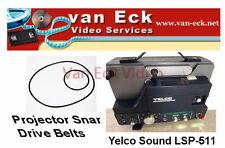 Yelco Sound LSP-511 - 2 belt set (motor belt, top-belt)