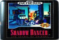 Shadow Dancer: The Secret Of Shinobi (1990) 16 Bit For Sega Genesis System