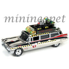 JOHNNY LIGHTNING JLCP7026 GHOSTBUSTERS  ECTO 1A 59 CADILLAC ELDORADO 1/64 CHROME