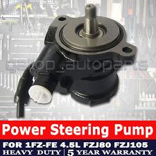 Power Steering Pump Suit Toyota Landcruiser 1FZ 4.5L Petrol FZJ80 FZJ105 1FZ-FE