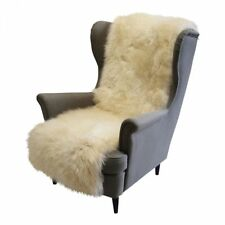 Lambskin - Chair Cushion Long Wool 160x50 CM Couch Cover Merino Fur