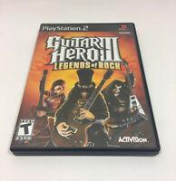 Guitar Hero III: Legends of Rock - PS2 Game Only
