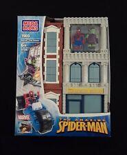 Mega Bloks Spiderman 1969 Marvel City Towers Building Set.