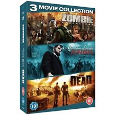 Zombie Triple - Zombie Apocalypse / Abraham Lincoln vs Zombies / The Dead 3xDVD